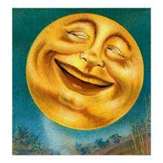 Lunar clipart vintage halloween The Celestial/Whimsical I'll Halloween stars
