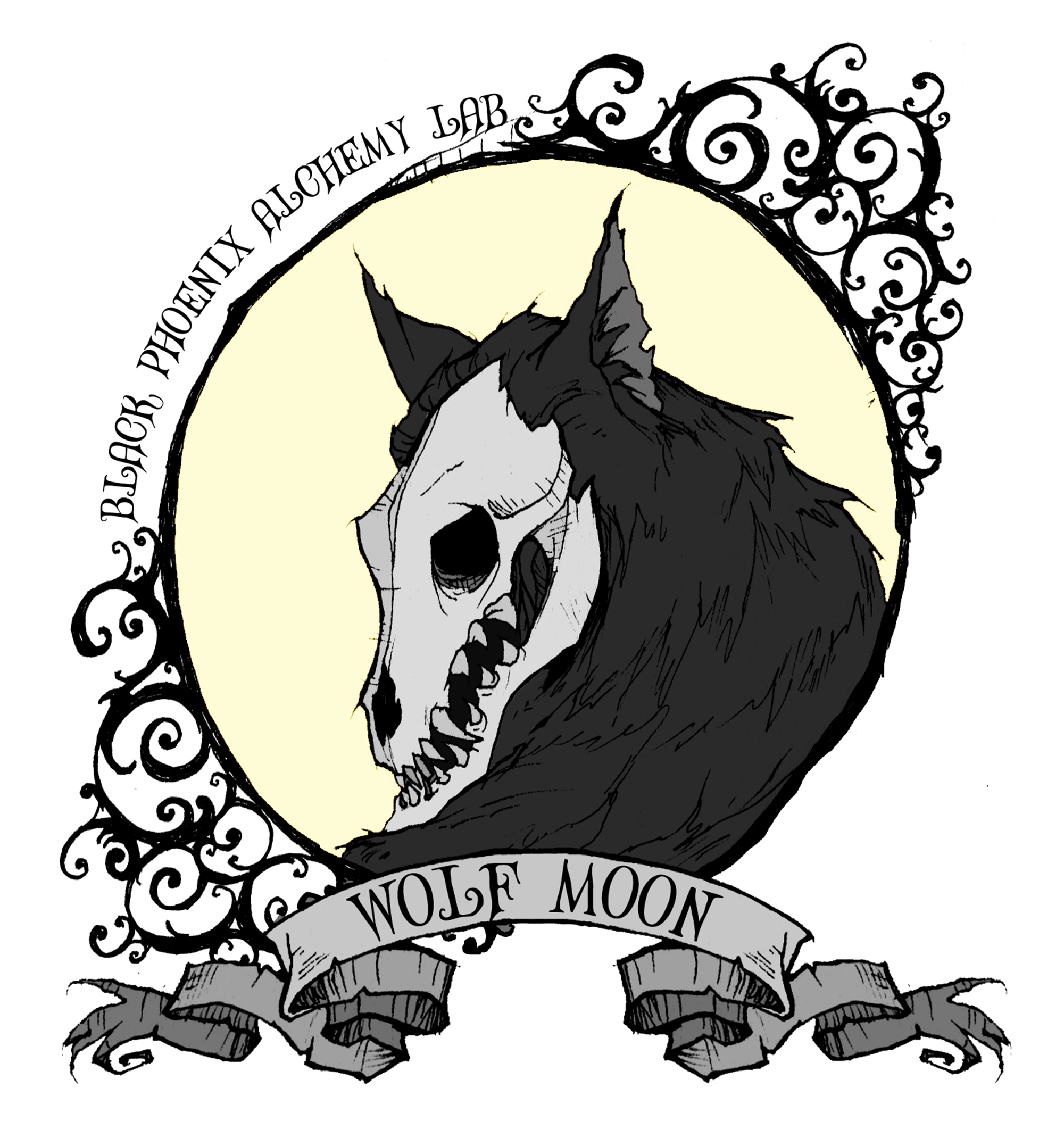 Alchemy clipart moon #7