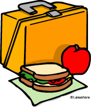 Trolley clipart lunch Lunch Panda Art Clip Clip