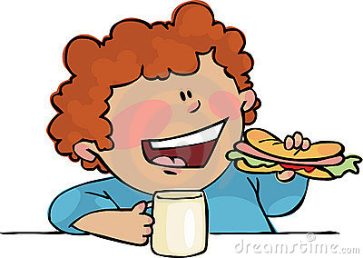 Child clipart lunch time Lunch clipart Lunch Time Kids