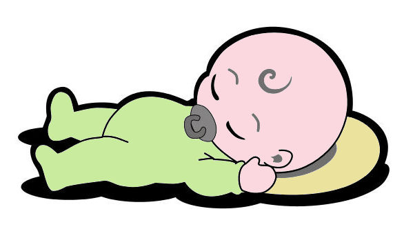 Pillow clipart baby bed Clip Clipart Download Free Positions