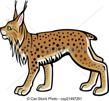 Lynx clipart Art Lynx of Lynx a