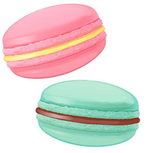 Macaron clipart On Macarons♡ Pinterest 242 shutterstock_195976880