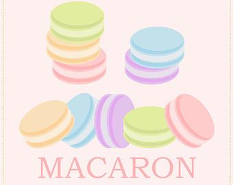 Macaron clipart Clip Royalty Art Art Free