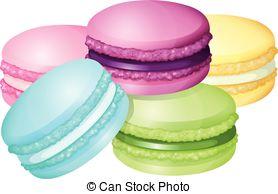 Macaron clipart 811 Art Macaron Clip Illustrations