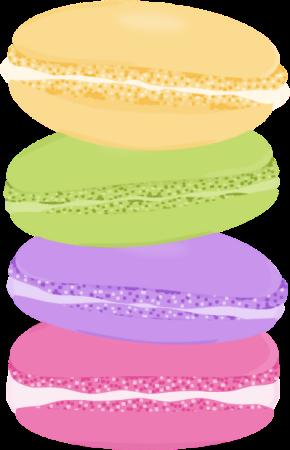 Macaron clipart Clip Macarons art Pinterest and