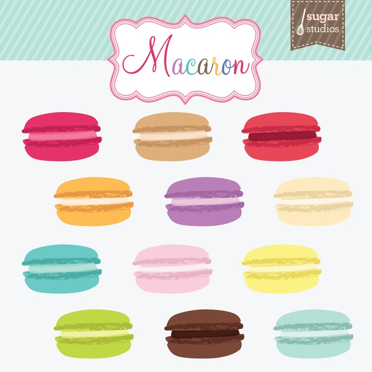 Macaron clipart cute Best Macaron 41 on Macarons