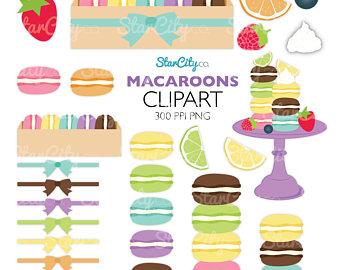 Macaron clipart stack Macaroons Macaroon Graphics Clip Fruit