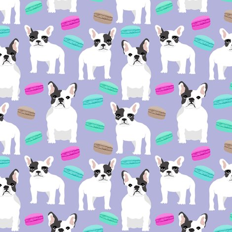 Macaron clipart french bakery Purple sweets bulldogs Rrfrench_macaron_purple_shop_preview frenchies