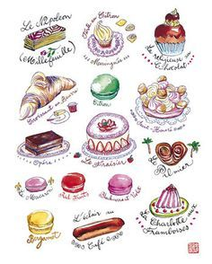 Macaron clipart french bakery Macaron Commercial for french Search