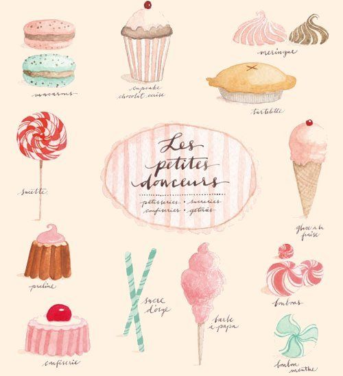 Macaron clipart french bakery ♥ Pinterest i Find more