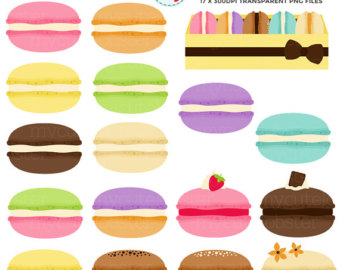 Macaron clipart french bakery Macarons art french clipart clip