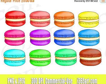 Macaron clipart macaroon Clip Download Digital Invitations clipart