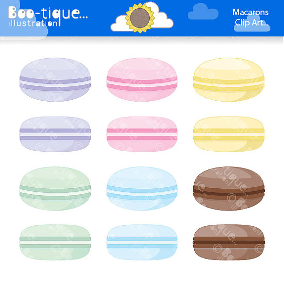 Macaron clipart macaroon For Download Macaroons Illustrations Clipart