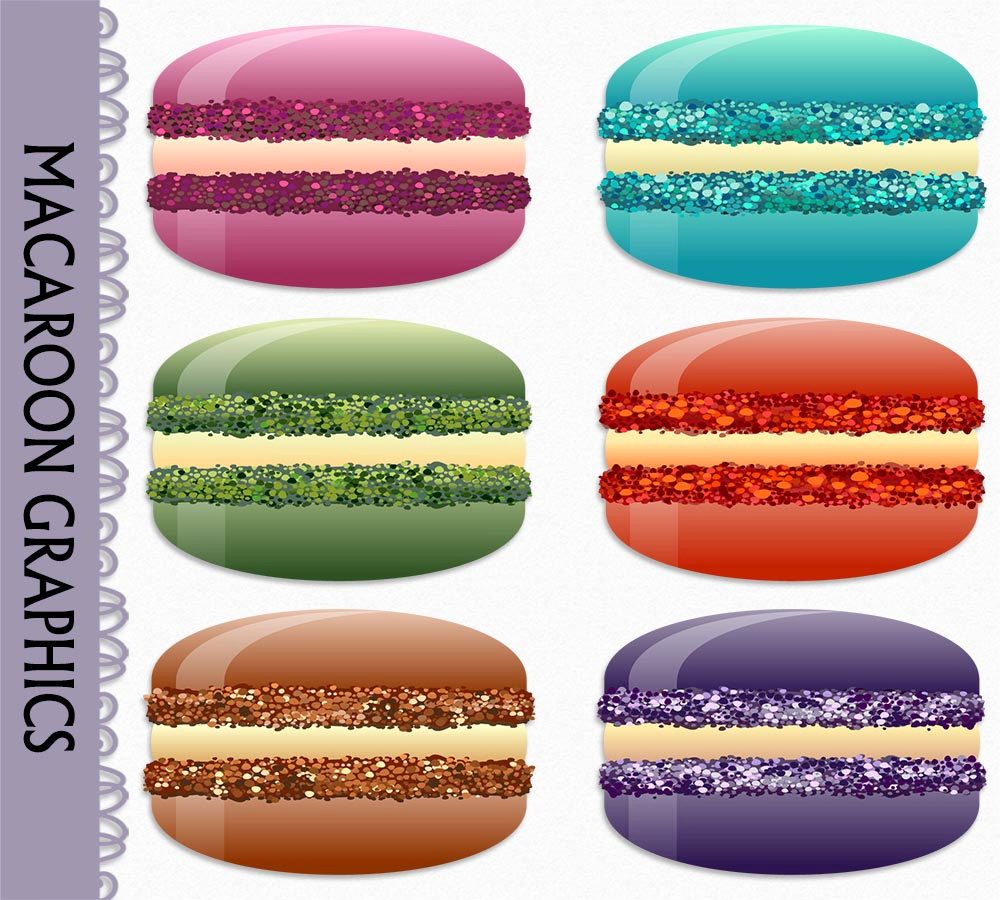 Pastry clipart sweet treat PNG Clipart Etsy Download Macaroon