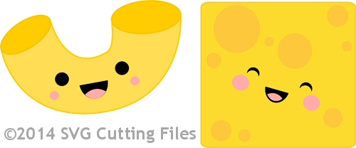 Macaroni And Cheese clipart kawaii SVG to Mac Cheese and