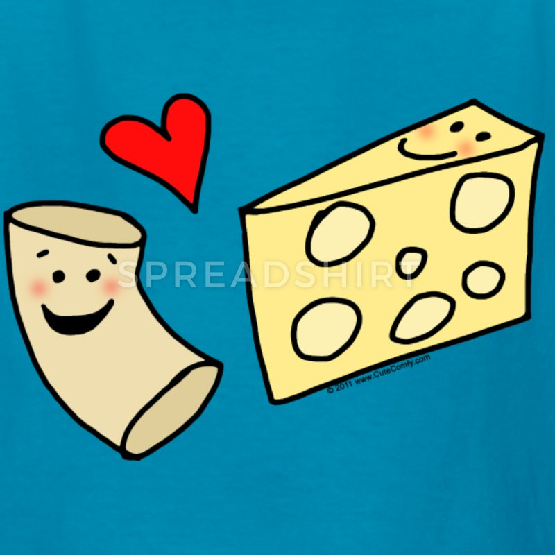 Macaroni clipart block cheese Cheese Mac Loves T Cheese