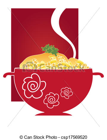 Macaroni clipart russian food Illustration of macaroni an illustration