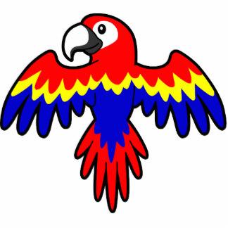 Scarlet Macaw clipart cartoon #12