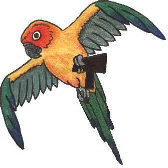 Parakeet clipart perch Los Loro y  la