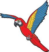 Parakeet clipart perch Clipart parrot Free Images Panda