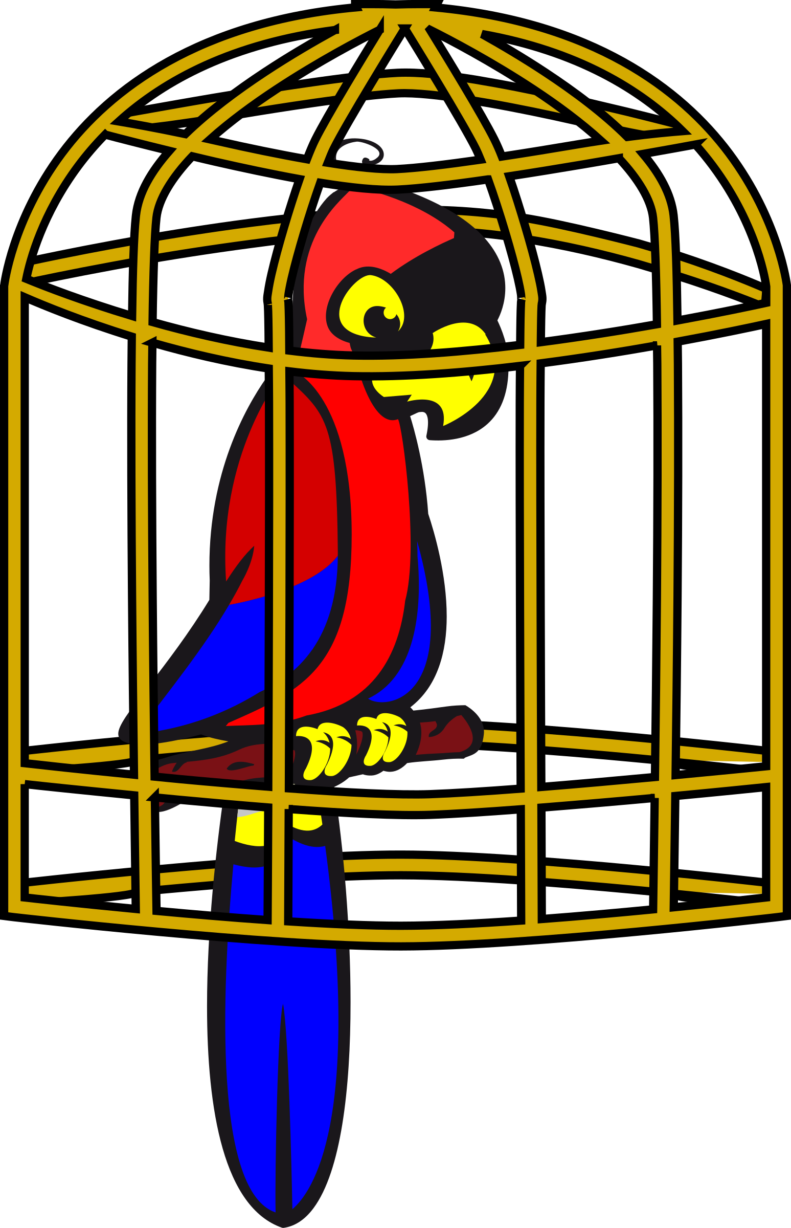 Parrot clipart cage Drawings clipart clipart Cage clipart