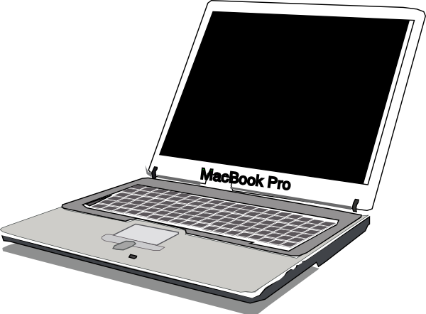 Macbook clipart #11