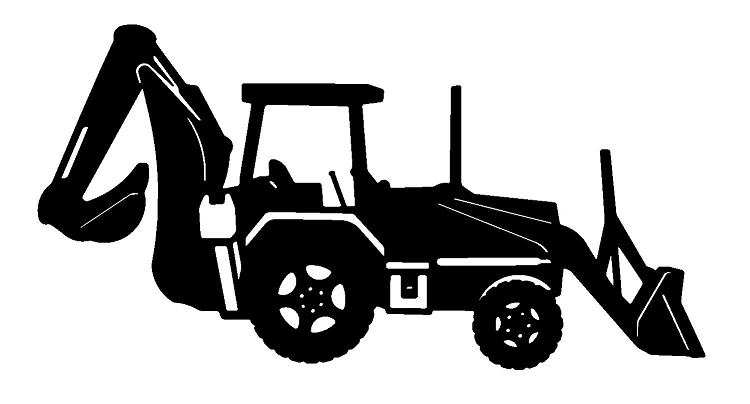 Excovator clipart yellow For Attachments JCB Excavators in