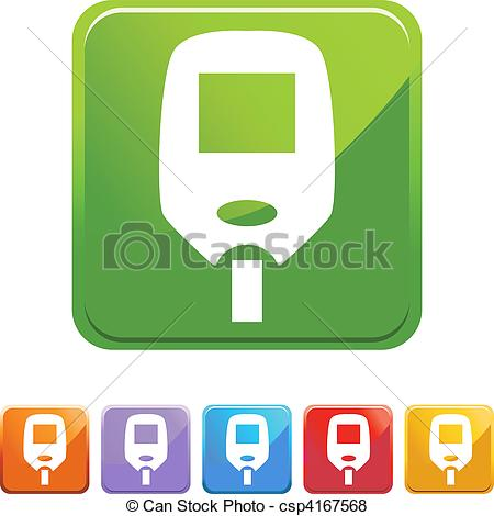 Machine clipart object Diabetic Glucose cliparts Monitor Clipart