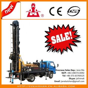 Machine clipart borewell Drilling Well well New truck