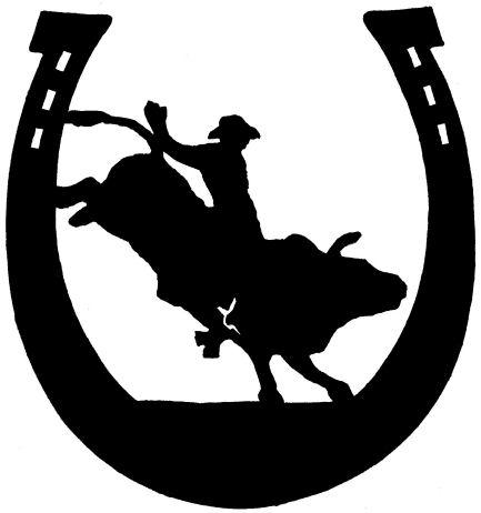 Machine clipart bull ride  T Silhouettes silhouette T