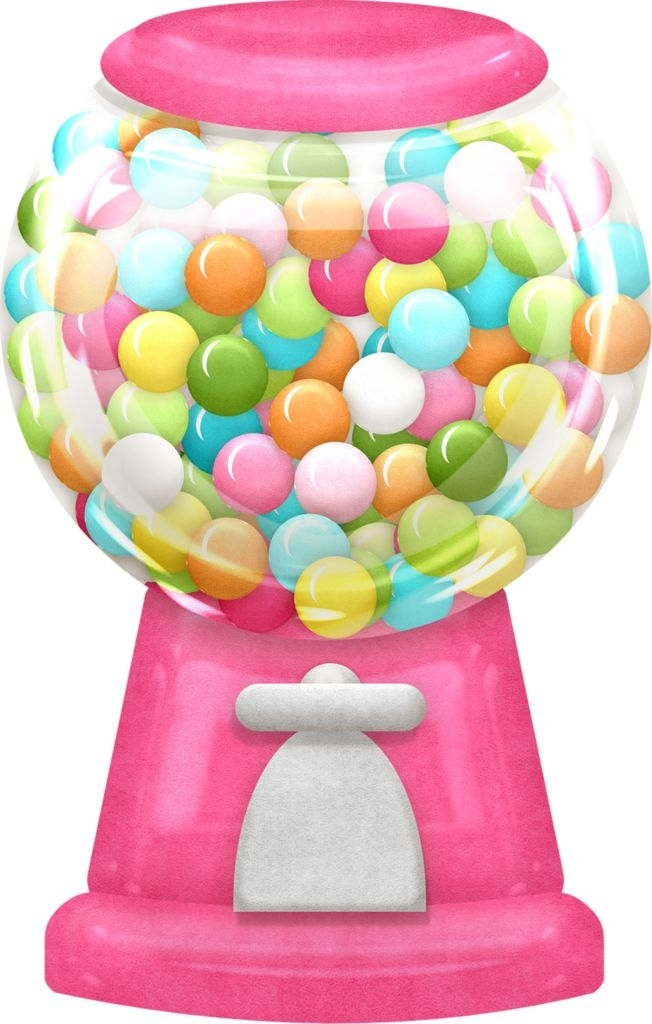 Machine clipart candy Candy gumball art candy clipart
