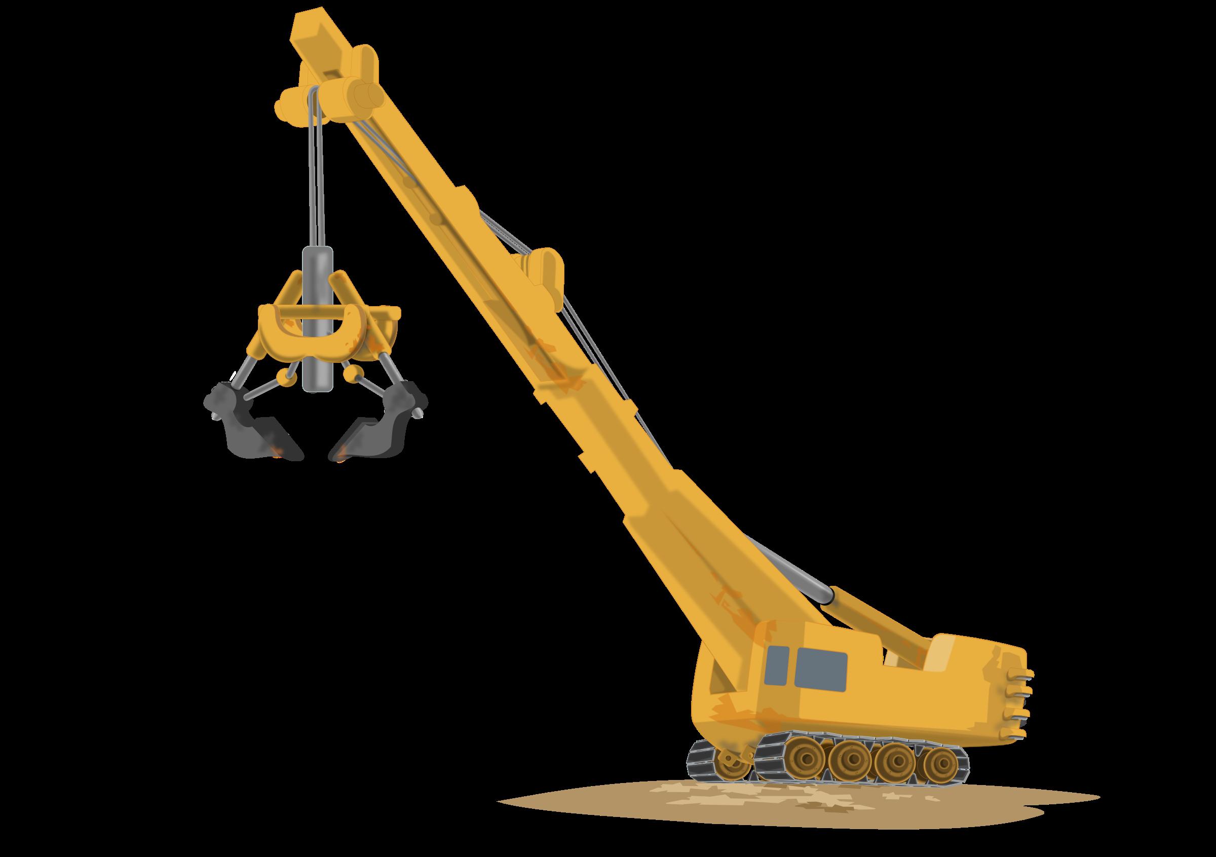 Machine clipart construction crane #6 Crane drawings clipart Download