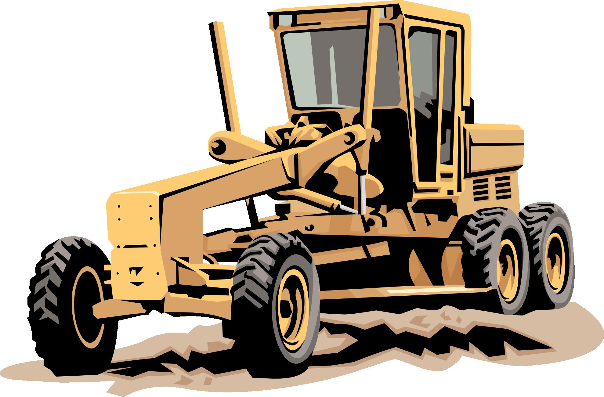 Tires clipart heavy equipment Heavy  Clipart Construction Vehicles
