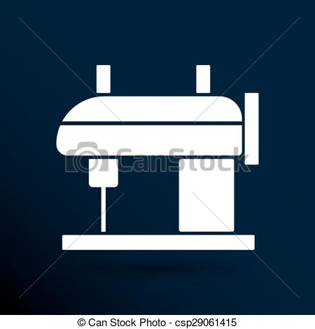 Machine clipart embroidery Embroidery machine Sewing  Vector
