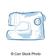 Machine clipart embroidery Clipart Machine royalty  Illustrations