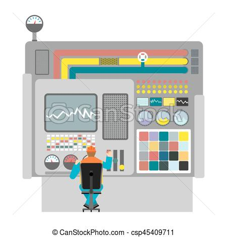 Machine clipart object Factory Machine workshop operator Art