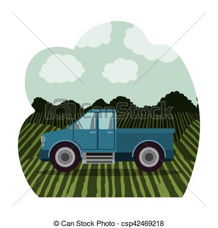 Machine clipart farm truck Design Isolated design farm Isolated