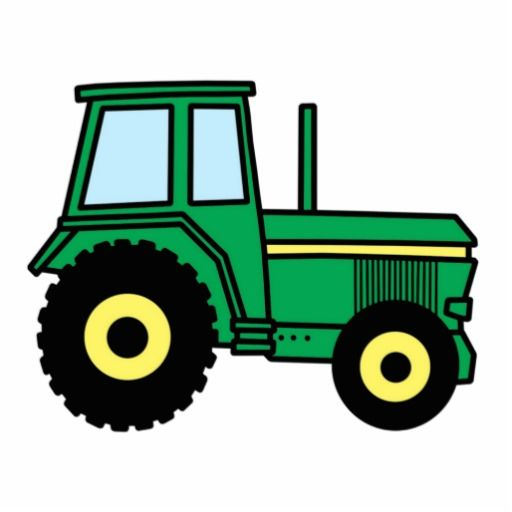 Machine clipart farm truck Cut Green Outs Tractor best