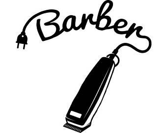 Barbet clipart hair clipper Barber Groom Haircut Logo Shop