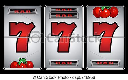 Machine clipart las vegas slot Seven Vector csp5746956 Machine Search