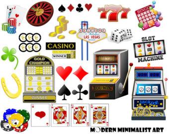 Machine clipart las vegas slot Slot Clipart machine PNGS Etsy