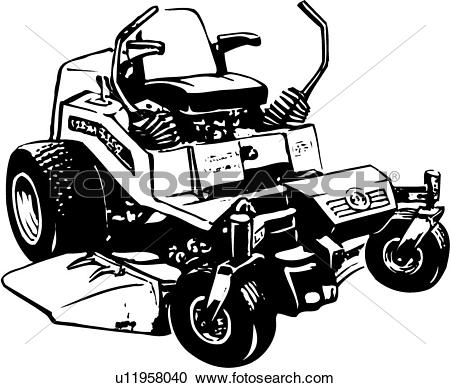 Machine clipart mechanical wheel Mower mower Images lawn Clip