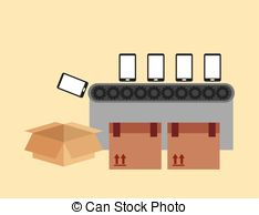 Machine clipart printing machine 57  Illustrations Manufacturing eps10