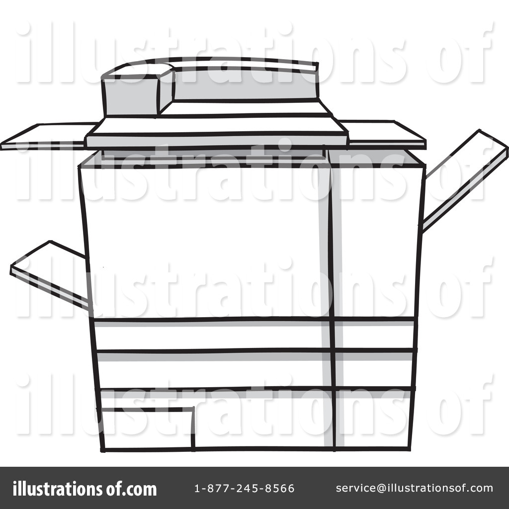 Machine clipart photocopier Copier Royalty Free by #1106660