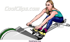 Machine clipart rower Woman Art Rowing machine Rowing