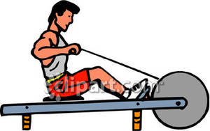Machine clipart rower Royalty Art Rowing clipart Rowing