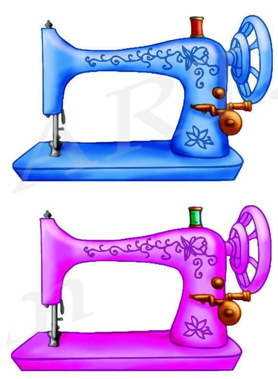 Sewing Machine clipart graphic #2
