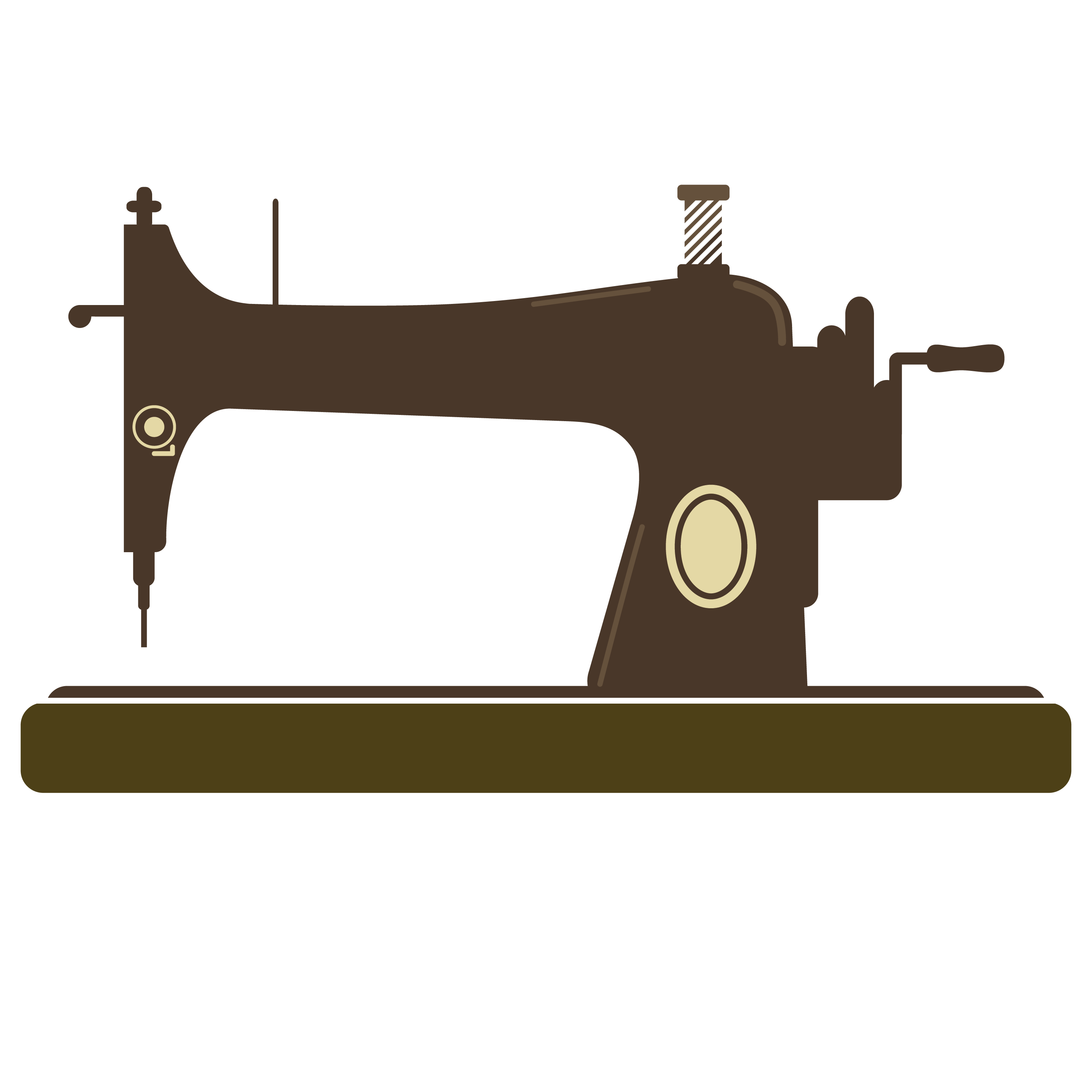 Sewing Machine clipart graphic #4