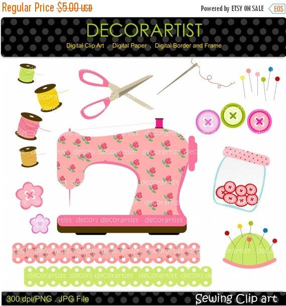 Sewing Machine clipart craft #2